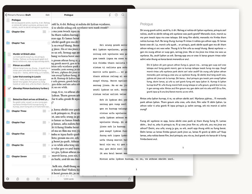 Scrivener for iPad is nearly here!