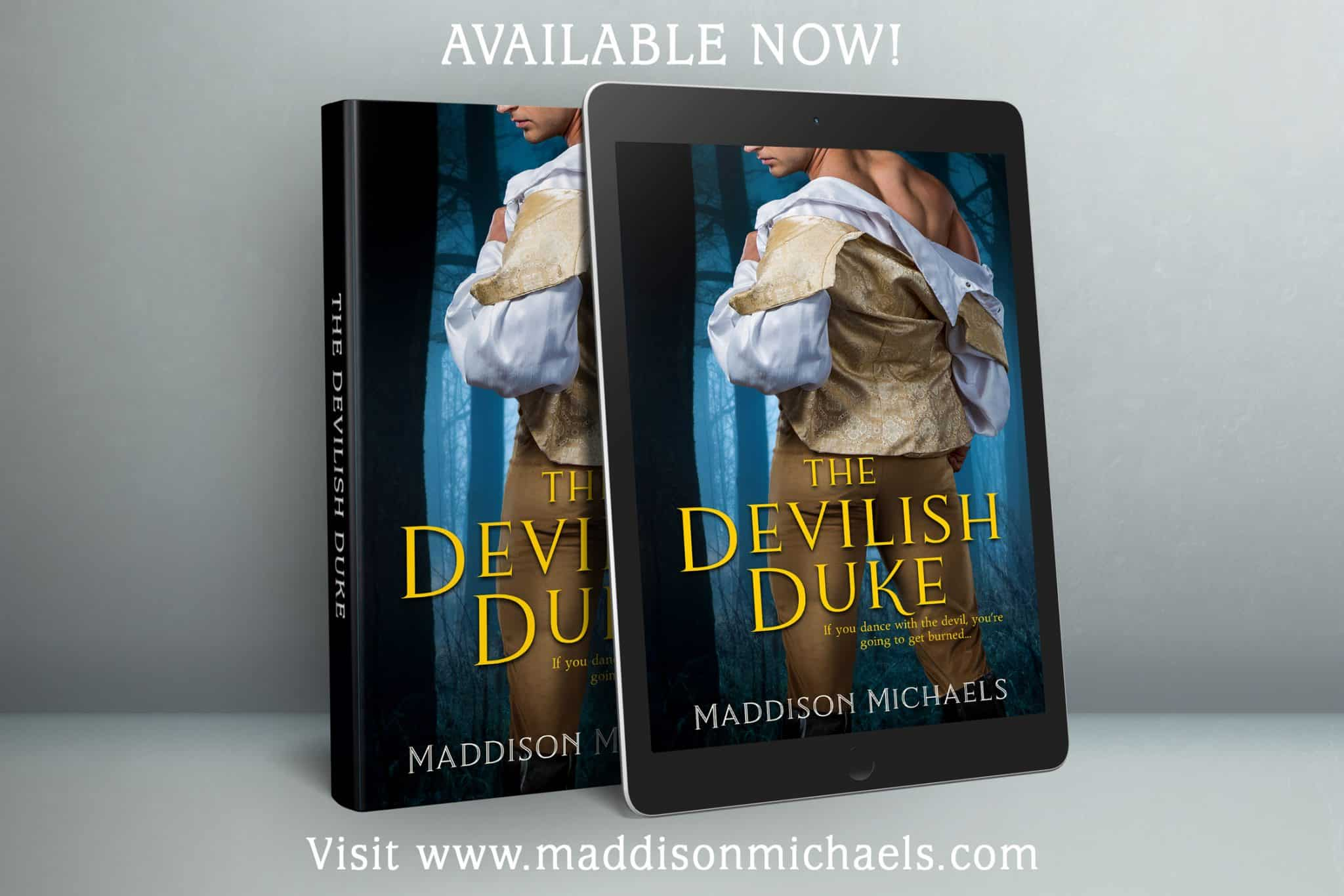 Whoo Hoo! The Devilish Duke is Available!!