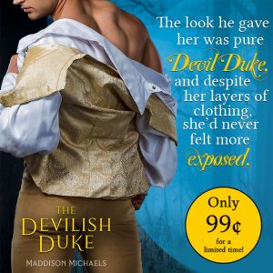 The Devilish Duke on sale for a limited time!
