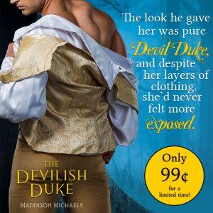The Devilish Duke on sale for a limited time!