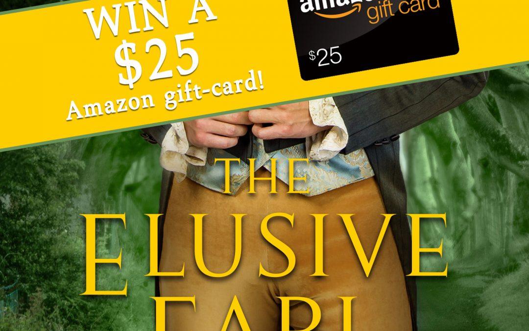 The Elusive Earl $25 Amazon Giveaway