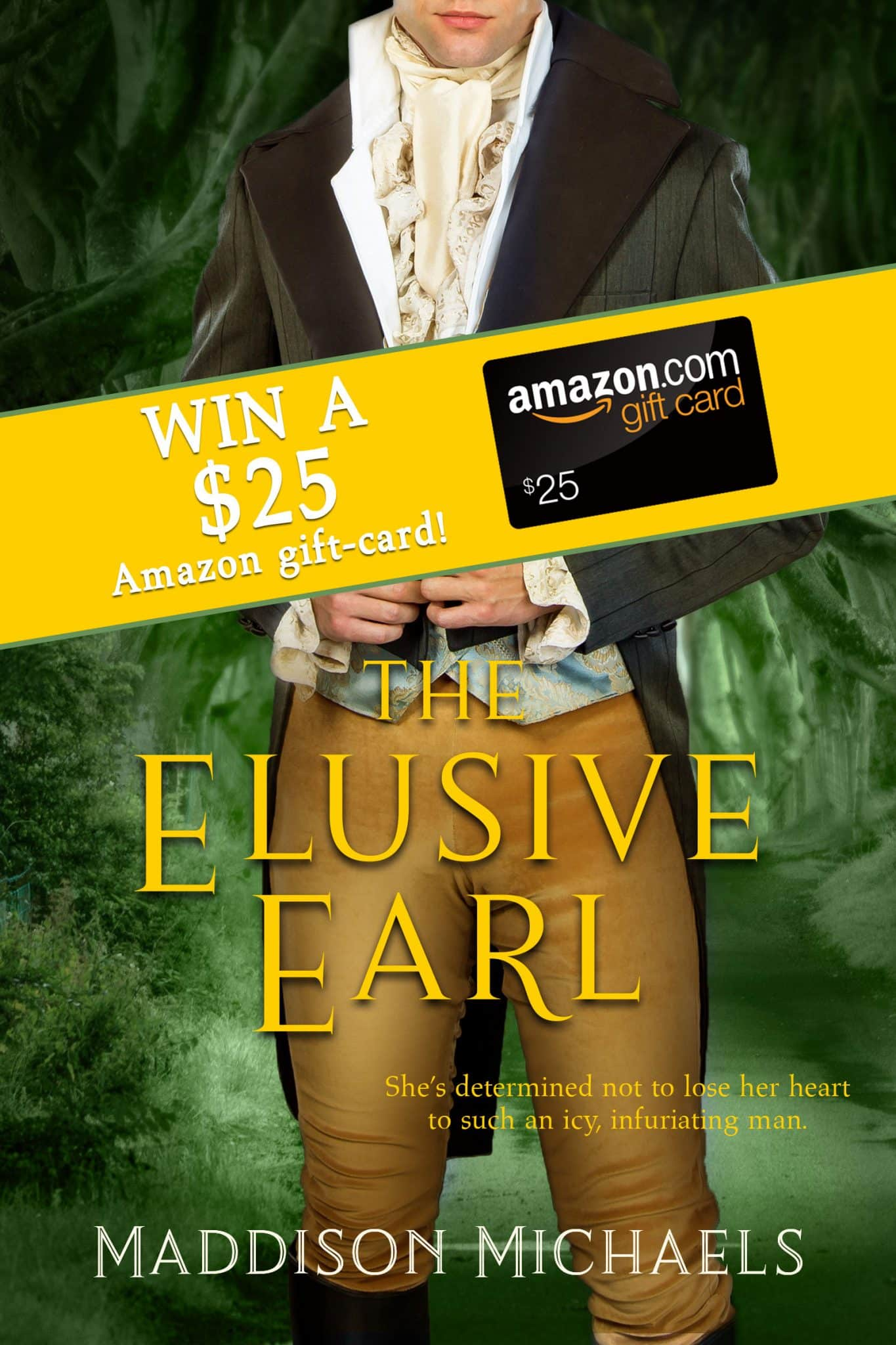 The Elusive Earl $25 Amazon Giveaway