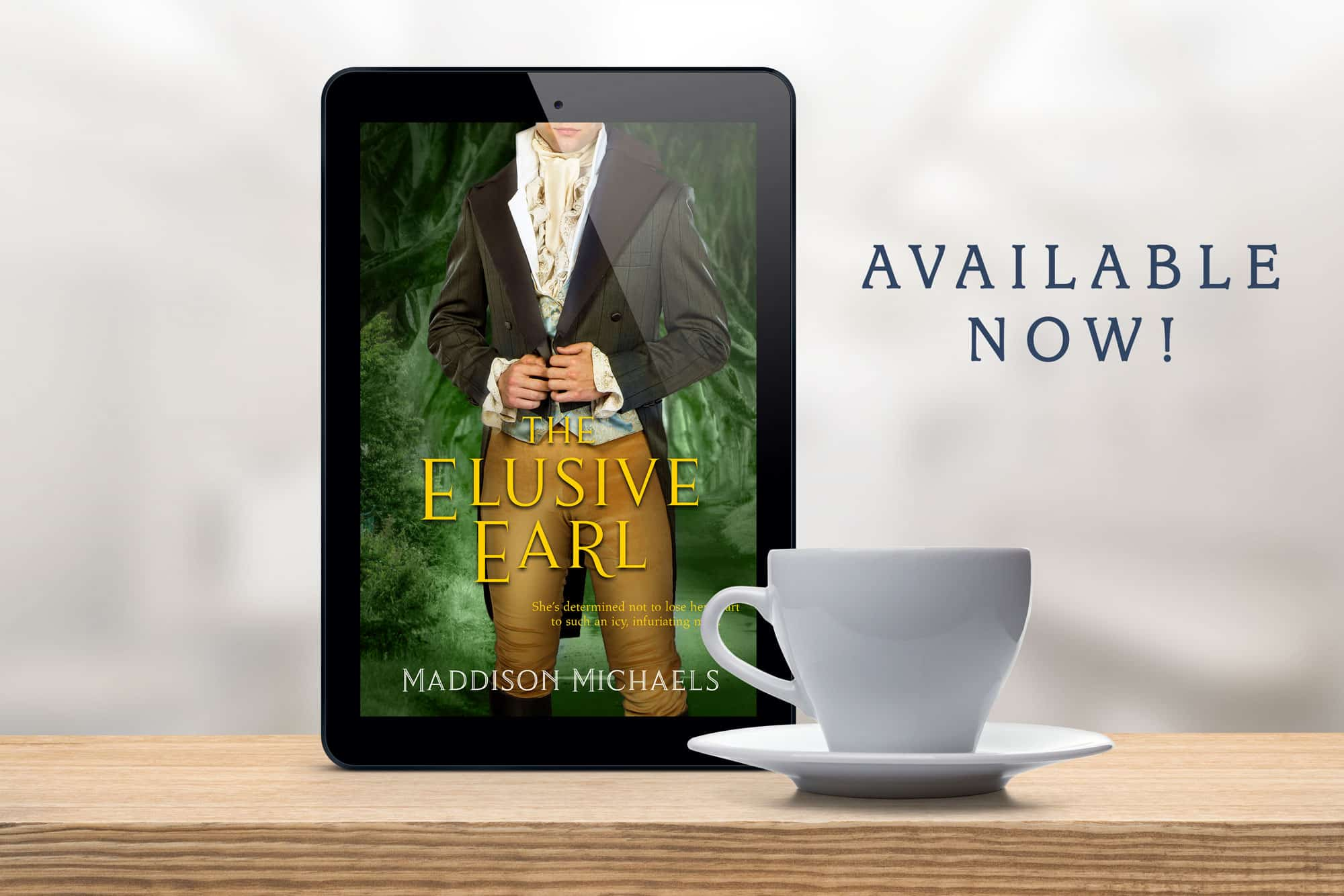 Release Day for The Elusive Earl!