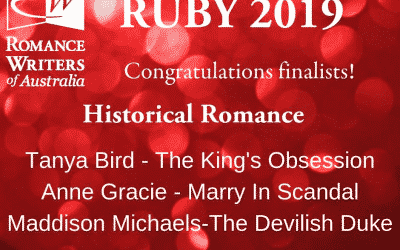 OMG I'm a Finalist in the RUBY Awards!